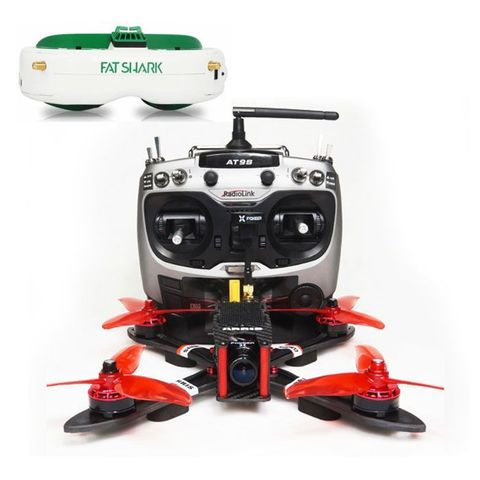 Free Shipping ARRIS X220 V2 Fpv Racing Drone w/Fatshark Attitude V6 FPV in All Boundle(US Warehouse)