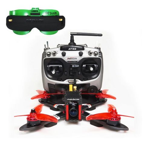 ARRIS X220 V2 Freestyle FPV Racing Drone with Fatshark Attitude V5 OLED  FPV Goggle