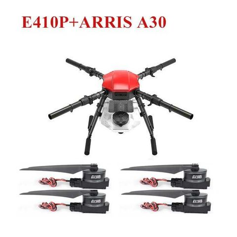 ARRIS E410P 4 Axis 10L 10KG Farm Drone Agriculture Drone with DJI E5000 ARRIS A30 Propulsion Systems
