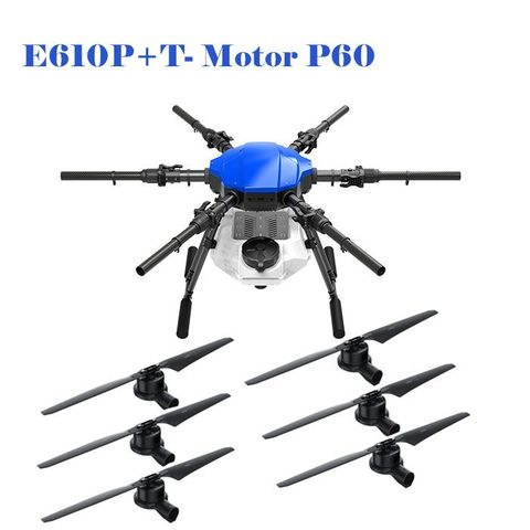 ARRIS E610P 6 Axis 10L Farm Drone Agriculture Spraying Drone with T-Motor P60 Power System