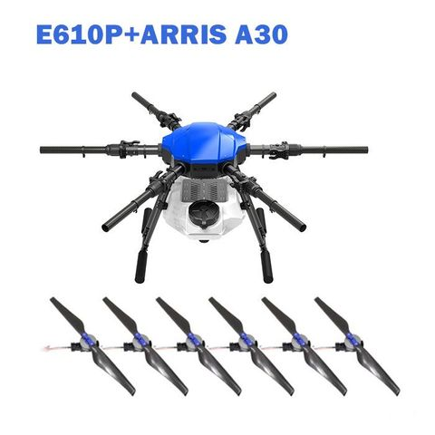 ARRIS E616P 6 AXIS 16L Crop Sprayer UAV Agriculture Spraying Drone with A30 Propulsion System
