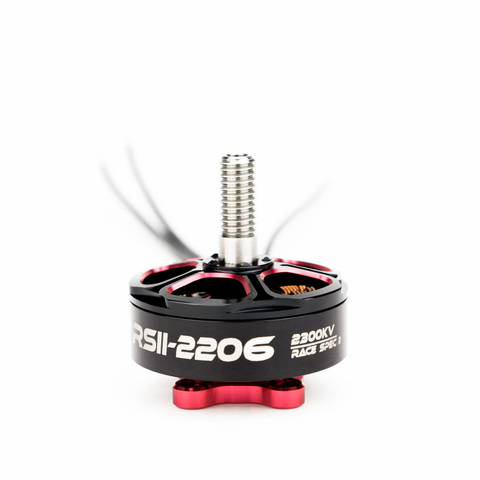 EMAX RSII 2206 2300KV Brushless Motor 3-4S Rece Spec II Red Buttom Motors