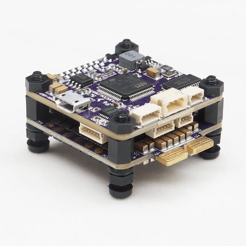 Flycolor S-Tower w/30A 4 in 1 ESC + F4 + OSD + PDB for FPV Racing Drone