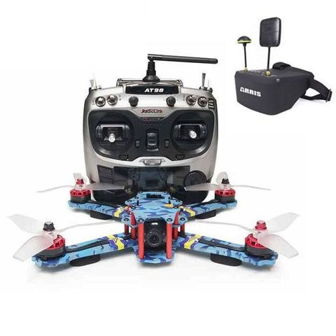 Free shipping!ARRIS C250 V2 250mm FPV Racing Drone RTF w/ Radiolink AT9S and EV800D FPV Goggle (US Warehouse)