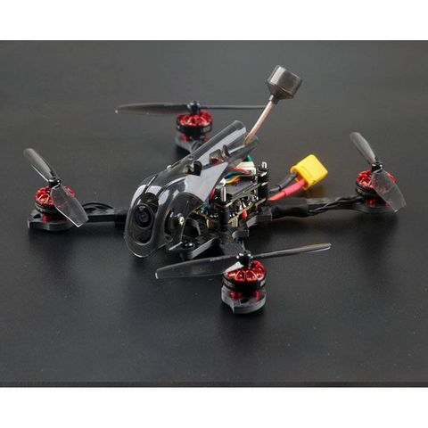 Happymodel Larva-X HD  125mm 2-3S 2in1 Racing Drone Whoop Toothpick BNF with Caddx Turtle Camera