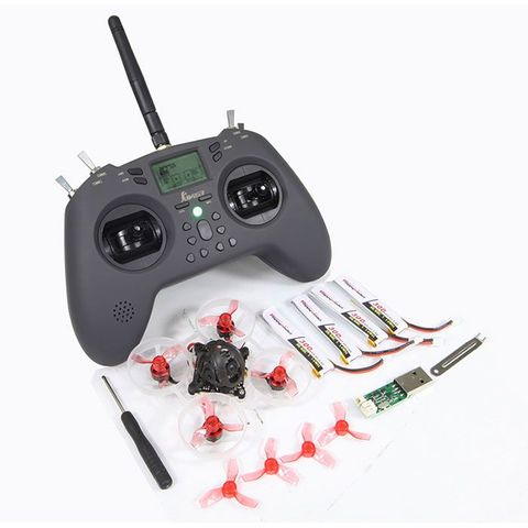 Happymodel Mobula6 1S 65mm Brushless TinyWhoop Drone RTF with Jumper T-Lite Radio