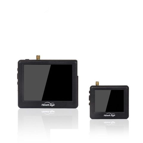 Hawkeye Little Pilot Master 2.5/3.5 '' 5.8G 48CH 960x240 FPV Mini Display Monitor for RC Drone Airplane