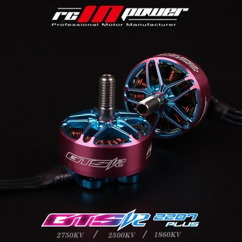 RCINPOWER GTS-V2 2207PLUS 2207 2750KV 4-5S Brushless Motor for Racing Drone