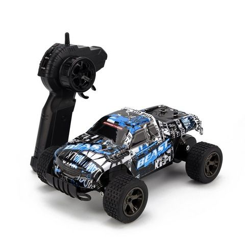 RCWING 2.4G 1:18 Full-scale Blue Remote Controller Car RC Monster Truck
