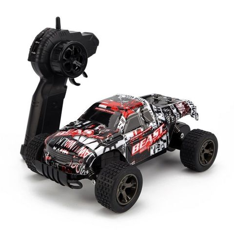 RCWING 2.4G 1:18 Full-scale Red Remote Controller Car RC Monster Truck