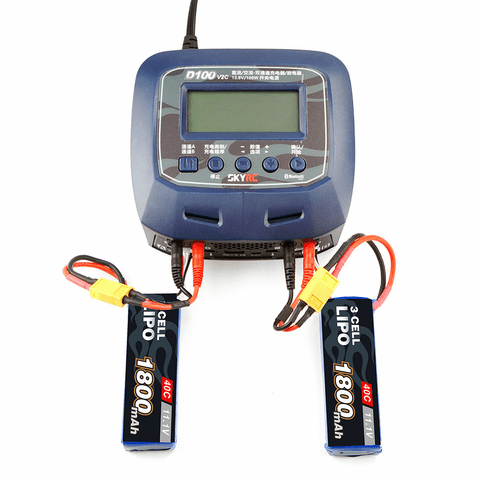 SKYRC D100 V2 AC DC Dual Balance Charger Discharger for Battery