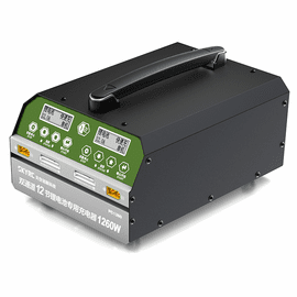 Skyrc PC1260 Dual Channel 12S Lipo LiHV Battery Blance Charger 1260W 12A