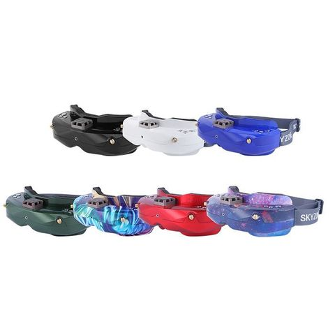 US Warehouse! SKYZONE SKY02X 5.8G 48CH Diversity FPV Goggles With Head Tracker Support DVR HDMI Headsets