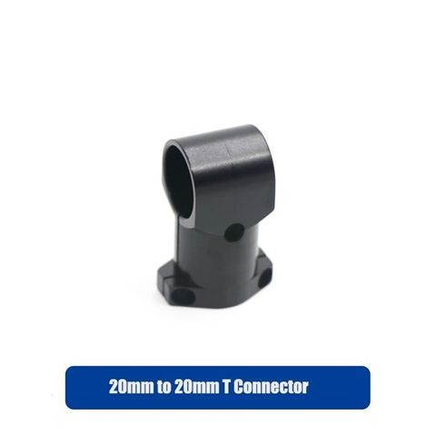 T Connector for Landing Skid 20mm to 20mm (Aluminum)