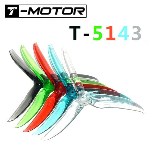 T-MOTOR T5143 Ultralight 5 Inches Propeller for Freestyle (4 Sets)