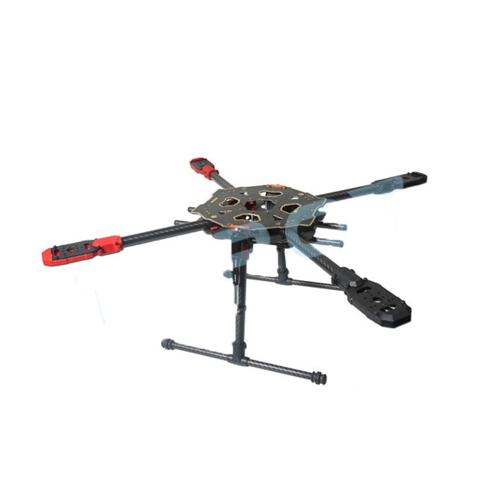 tarot 650 sport quadcopter tl65s01 with electric retractable landing skid