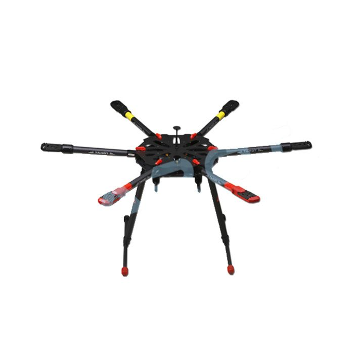 tarot x6 6  electronic retractable landing skid for fpv