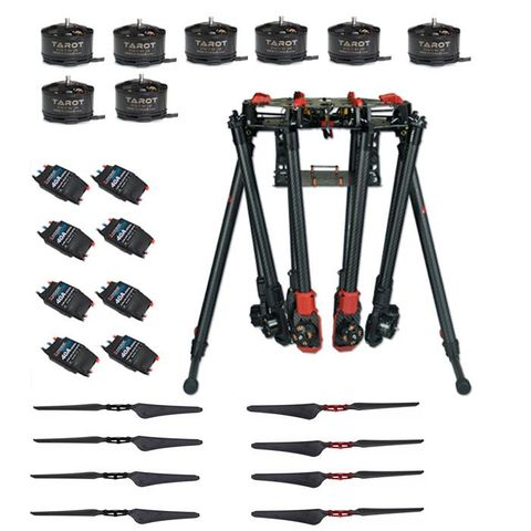 Tarot X8-II 8 Axis Multicopter TL8X000-PRO Super Combo for Aerial Photography (Unassembled)