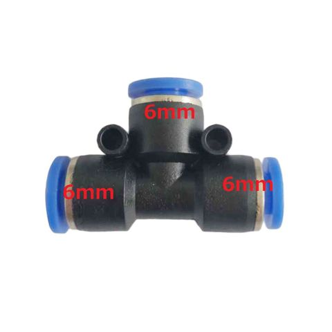 Agriculture Drone Water Pipe Connector Coverter-6mm-6mm-6mm
