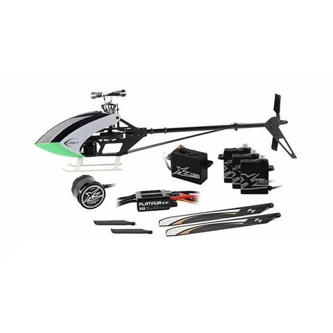 XLPower MSH Protos 380 Electric Helicopter with Motor ESC Servo Combo