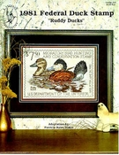 1981 Federal Duck Stamp Ruddy Ducks