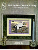 1992 Federal Duck Stamp Spectacled Eider