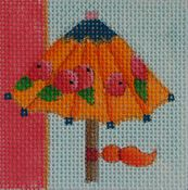 Parasol With Berries
