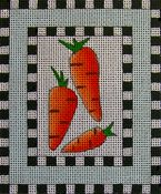 Carrots on Checkerboard