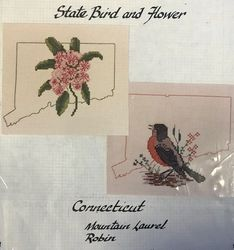 Connecticut State Bird and Flower