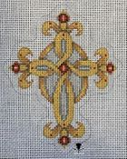 Cross With Jewels