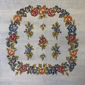 Floral Wreath Squared