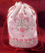 Flowers From the Heart Accessory Bag