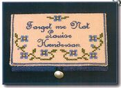 Forget-Me-Not Card Case