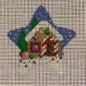 Gingerbread House Mini Star
