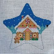 Gingerbread House Star