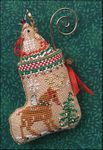 Gingerbread Mouse Reindeer Stocking