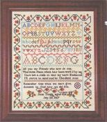 Jane Tonge Reproduction Sampler