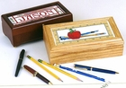 Jason's Pen Box - Apple For Teacher