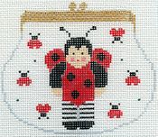 Lady Bug Purse w/ Stitch Guide