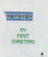 My First Christmas (Blue)