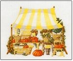 Open Market With Yellow Canopy
