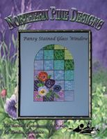 Pansy Stained Glass Window