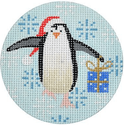 Penguin w/ Blue Gift