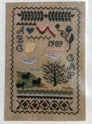 Sheep on a Hill Sampler