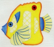 Tropical Fish - Yellow & Blue