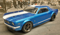 1966 Mustang GT Coupe Custom Painted RC Touring Car / RC Drift Car Body 200mm (Painted Body Only)