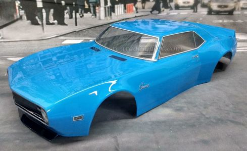 1968 Camaro Custom Painted RC Touring Car / RC Drift Car Body 200mm (Painted Body Only)