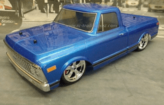 1972 Chevy C10 Custom Painted RC Touring Car / RC Drift Car Body 200mm (Painted Body Only) For Vaterra V100-S