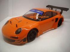 2012 Porsche 911 GT3 RSR Custom Painted RC Touring Car / RC Drift Car Body 200mm (Painted Body Only)