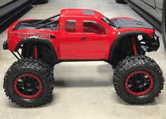 2017 Ford Raptor Custom Painted Body For Traxxas X-maxx RC Monster Truck